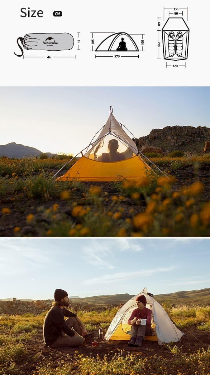 Naturehike CloudUp Ultralightテント