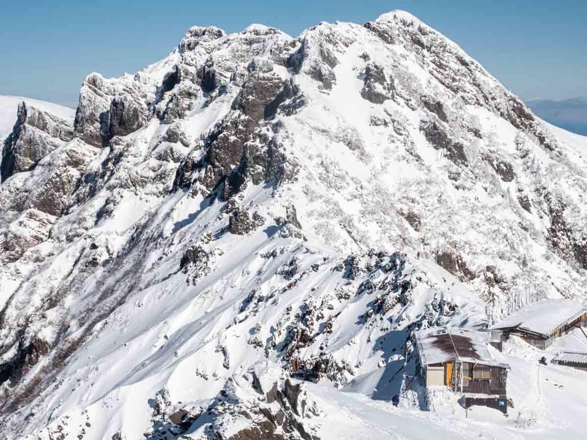 赤岳から見た横岳
