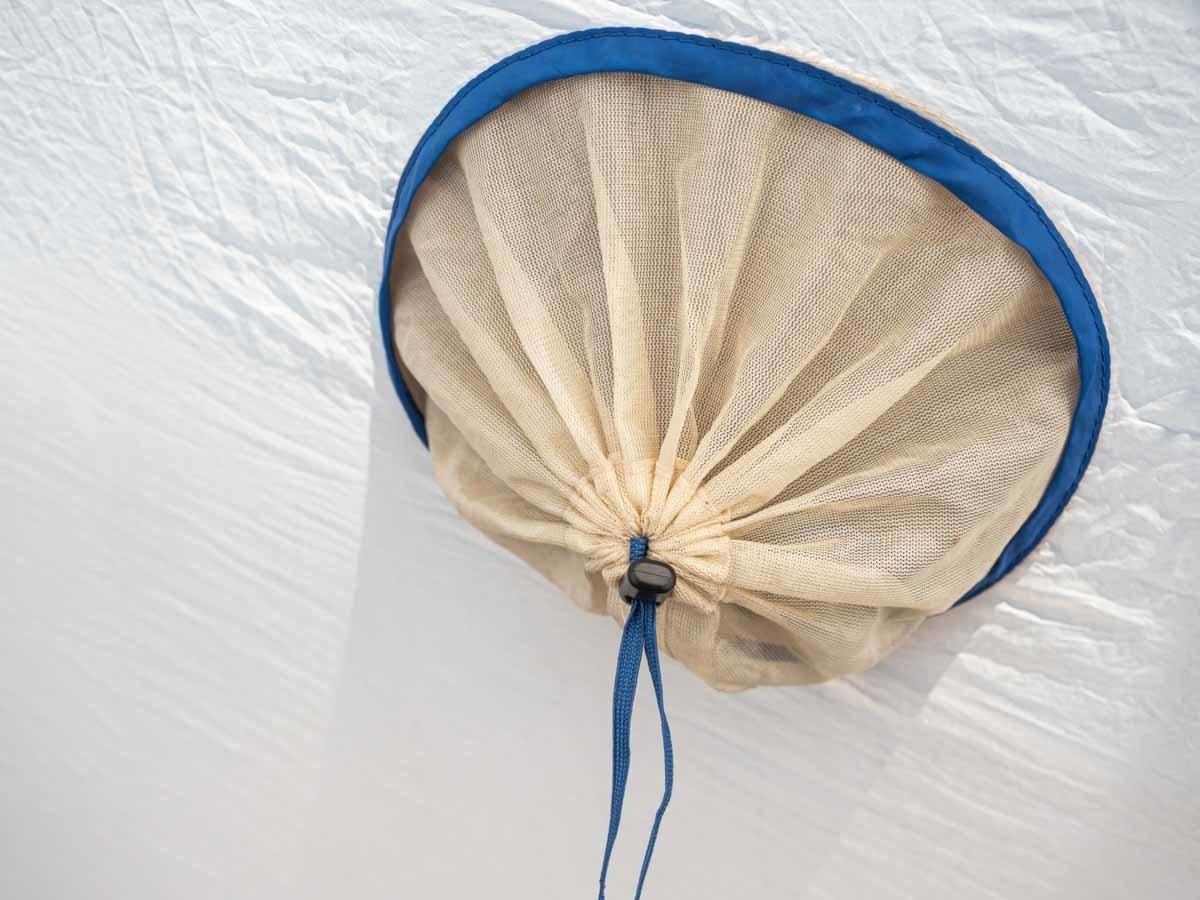 プロモンテ VL25 テントの通気口