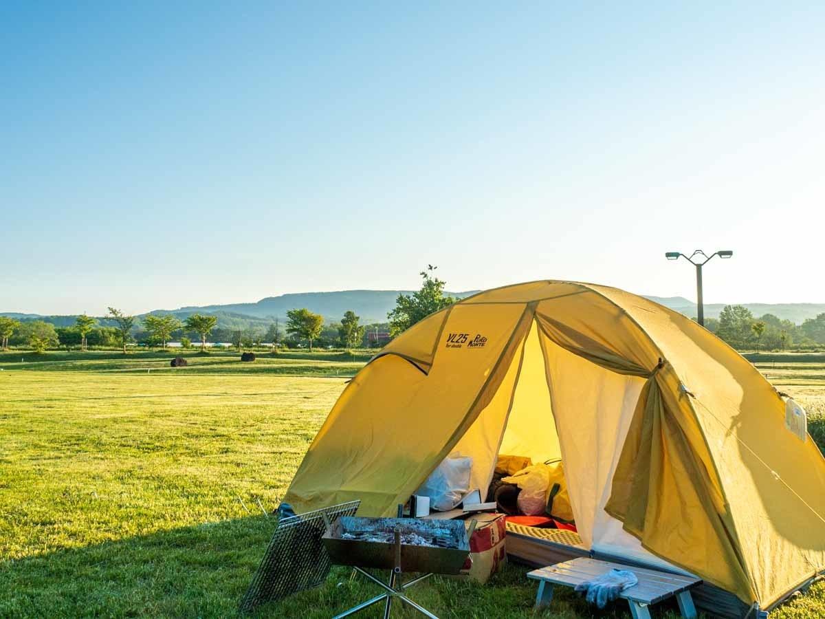 プロモンテVL25でキャンプ