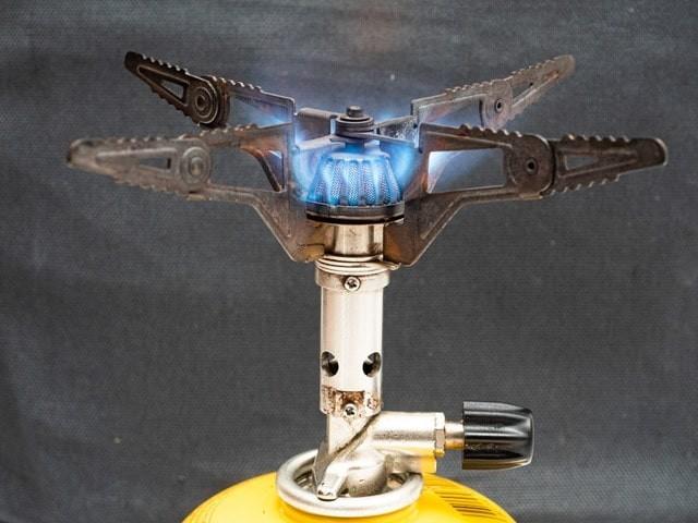 プリムスP-153を燃焼