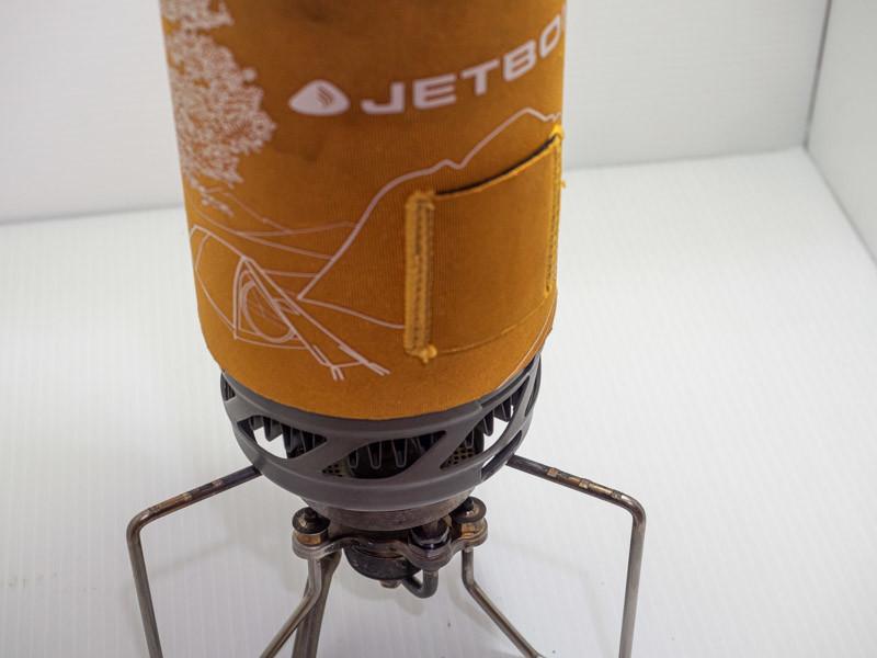 SOTO ストームブレイカーにジェットボイルを乗せる