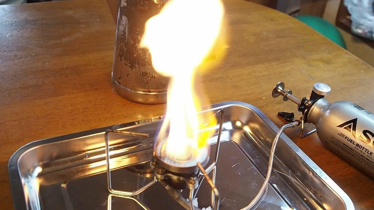 SOTO ストームブレイカー 着火