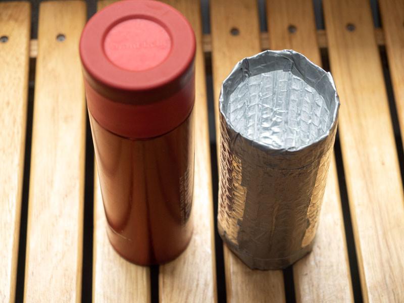 アルパインサーモボトル 自作カバー