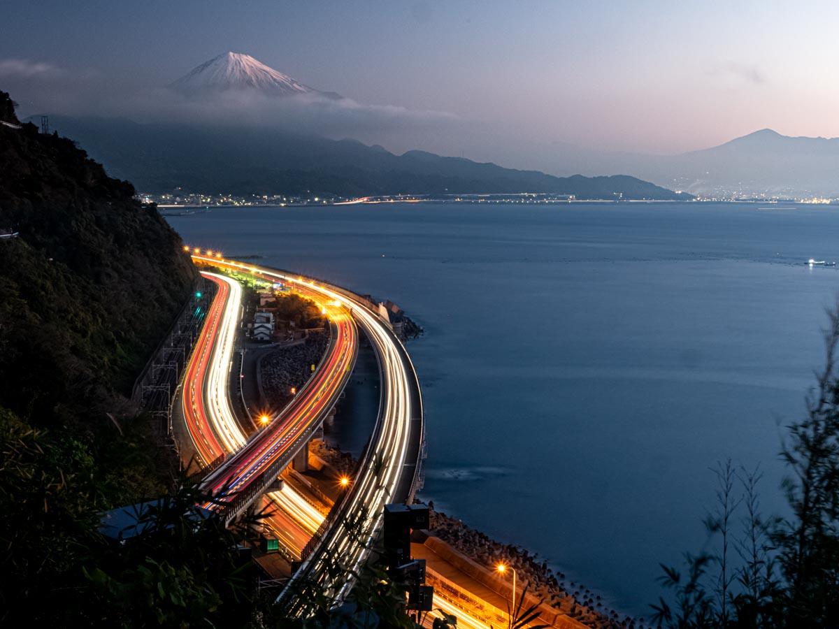 富士山と峠