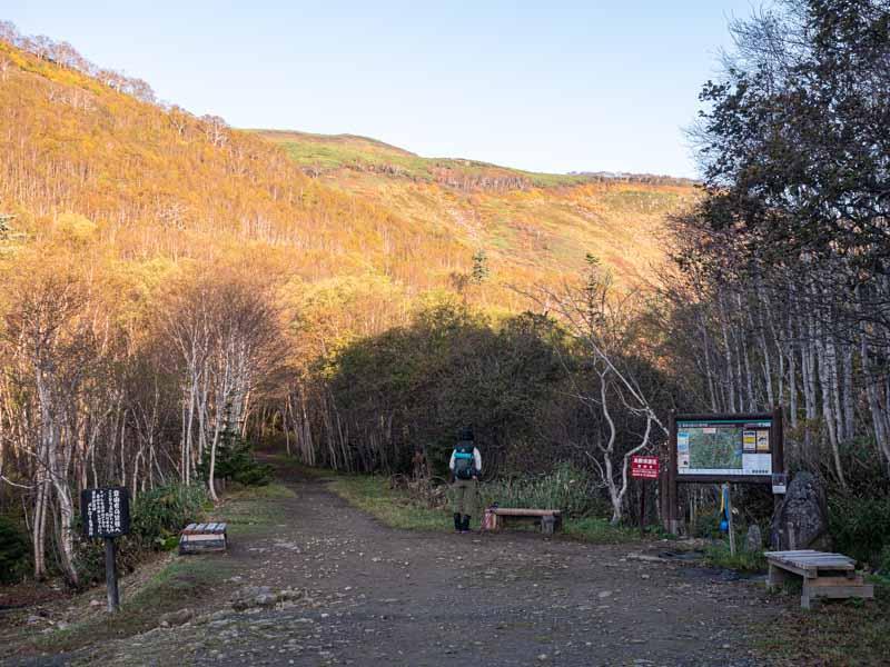 銀仙台登山口