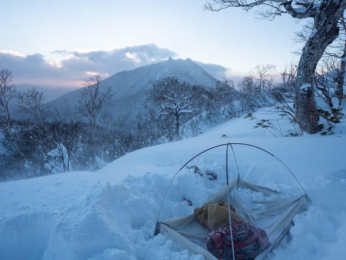 冬山テント泊