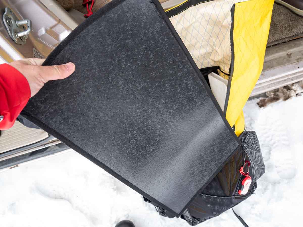 ネイチャーハイク 25+5L バックパック 背面プレート