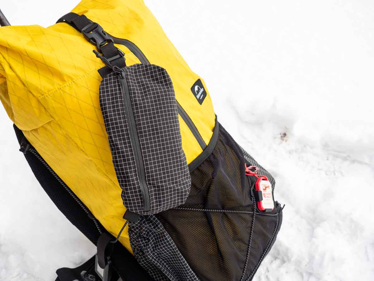 ネイチャーハイク 25+5L バックパック ウエストポケット