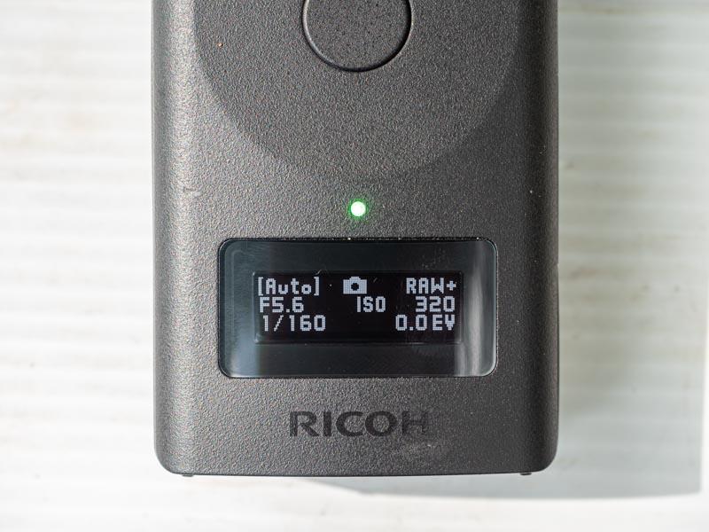 RICOH THETA Z1 液晶ディスプレイ