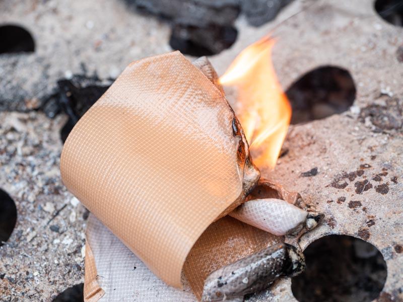 ガムテープ 着火材