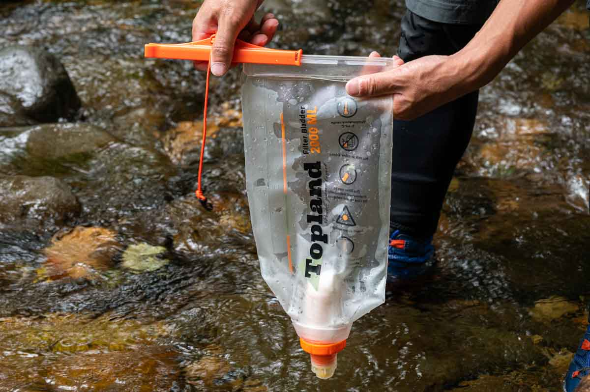 topland 携帯浄水器 Filter Bladder