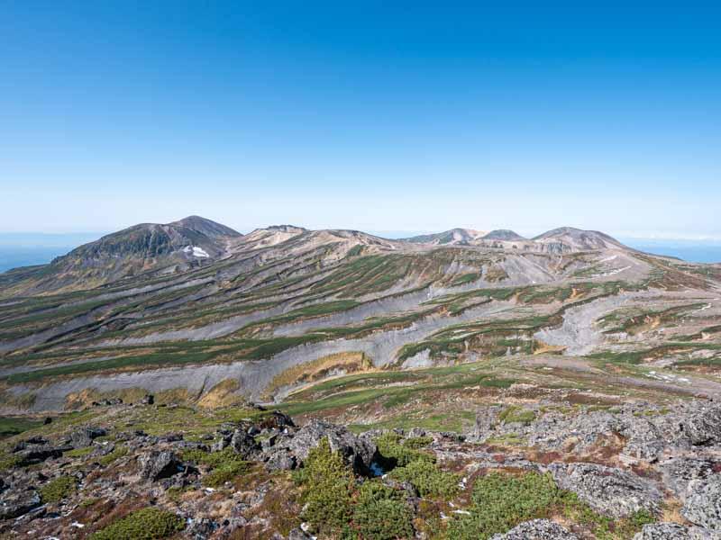 白雲岳からの景色