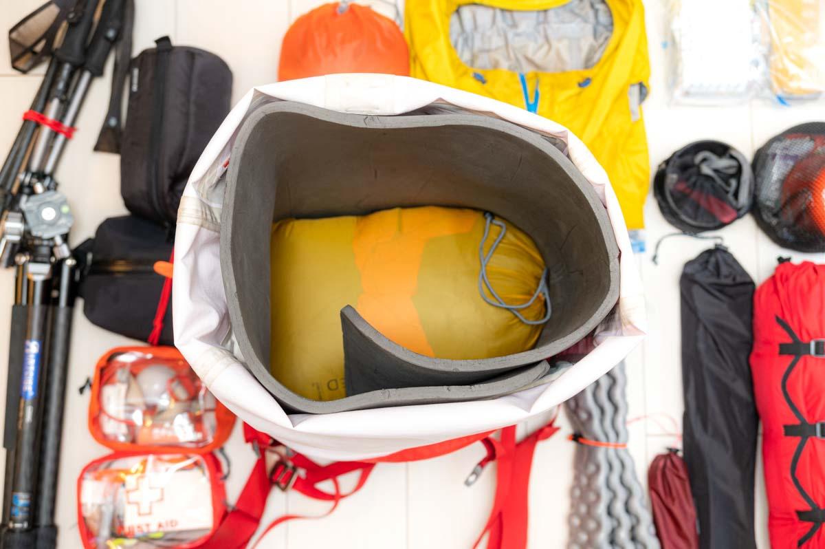 テント泊登山 装備一覧