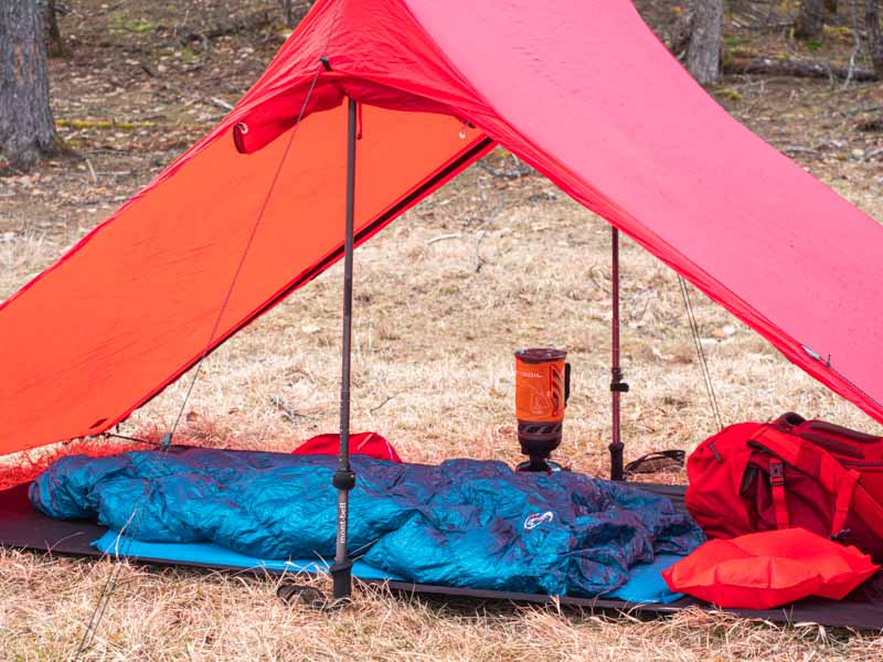 バックパックキャンプ