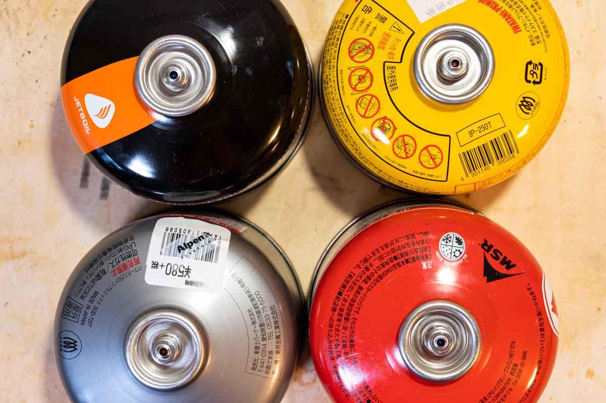 OD缶のバルブ