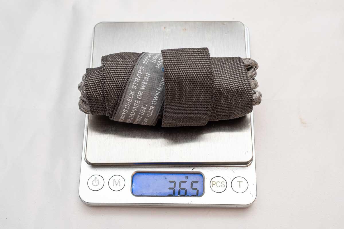 Cocoon Hammock Strap UL 重量
