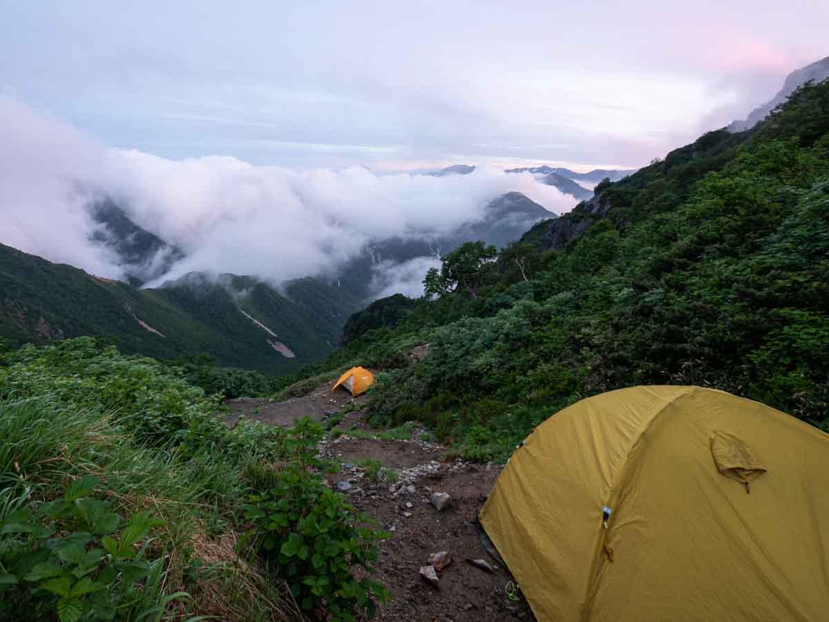 夏山テント泊登山