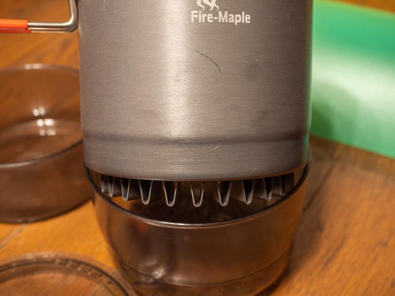 ファイアメイプル アイランド 蒸し器