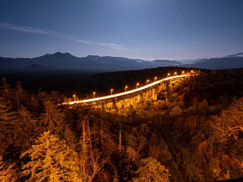 三国峠の夜景