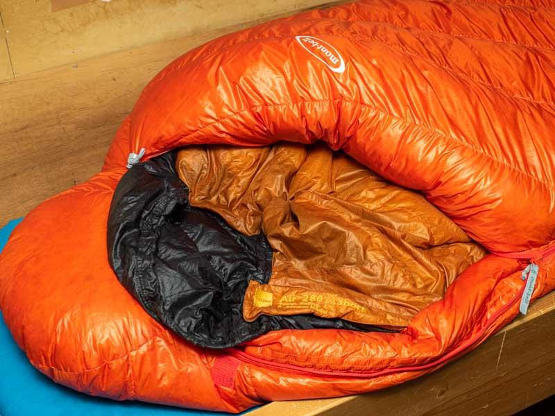 寝袋イン寝袋
