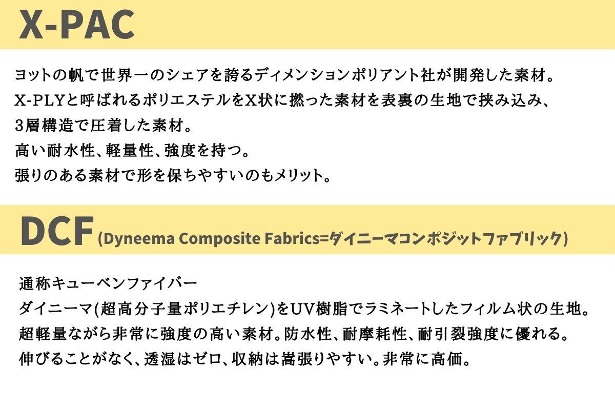 X-PACとDCFの説明