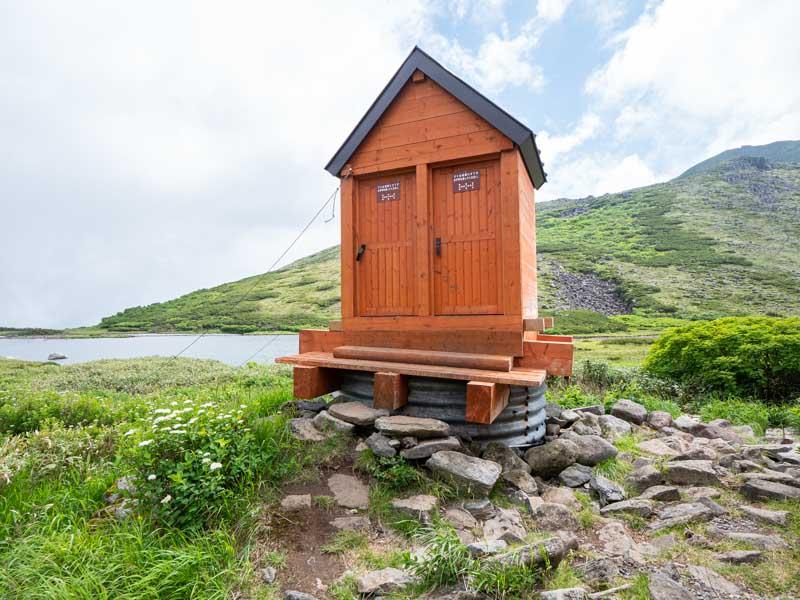 大雪山 ヒサゴ沼 トイレ