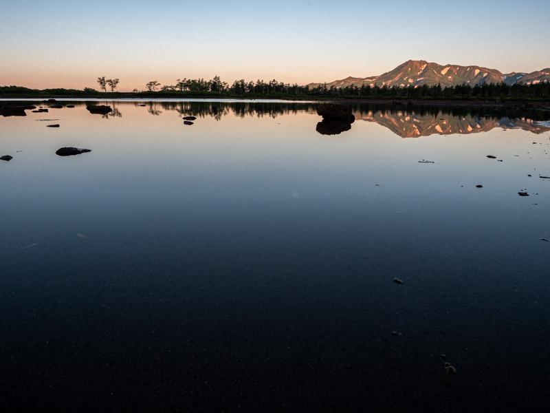 クチャンベツ沼ノ原~トムラウシ 大沼とトムラウシ