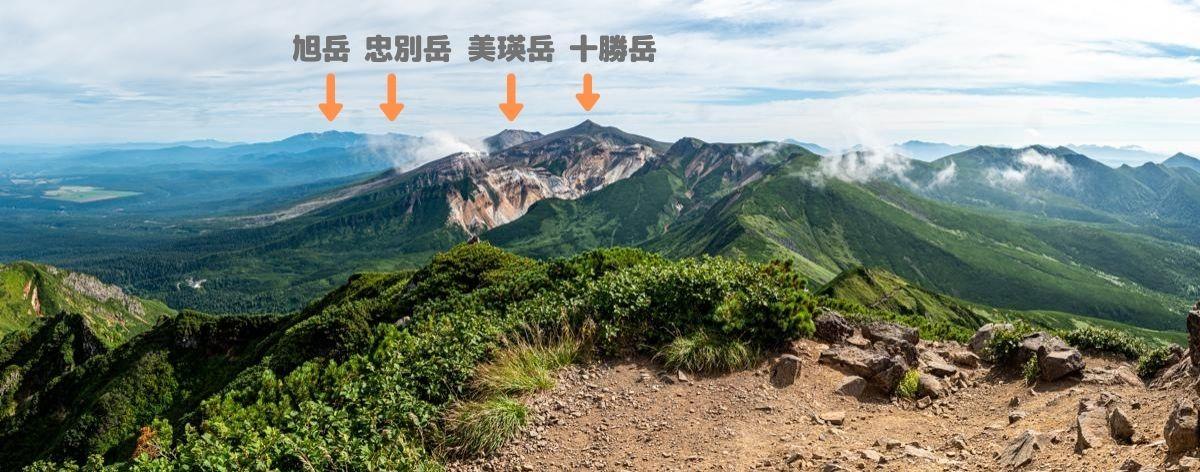 富良野岳パノラマ