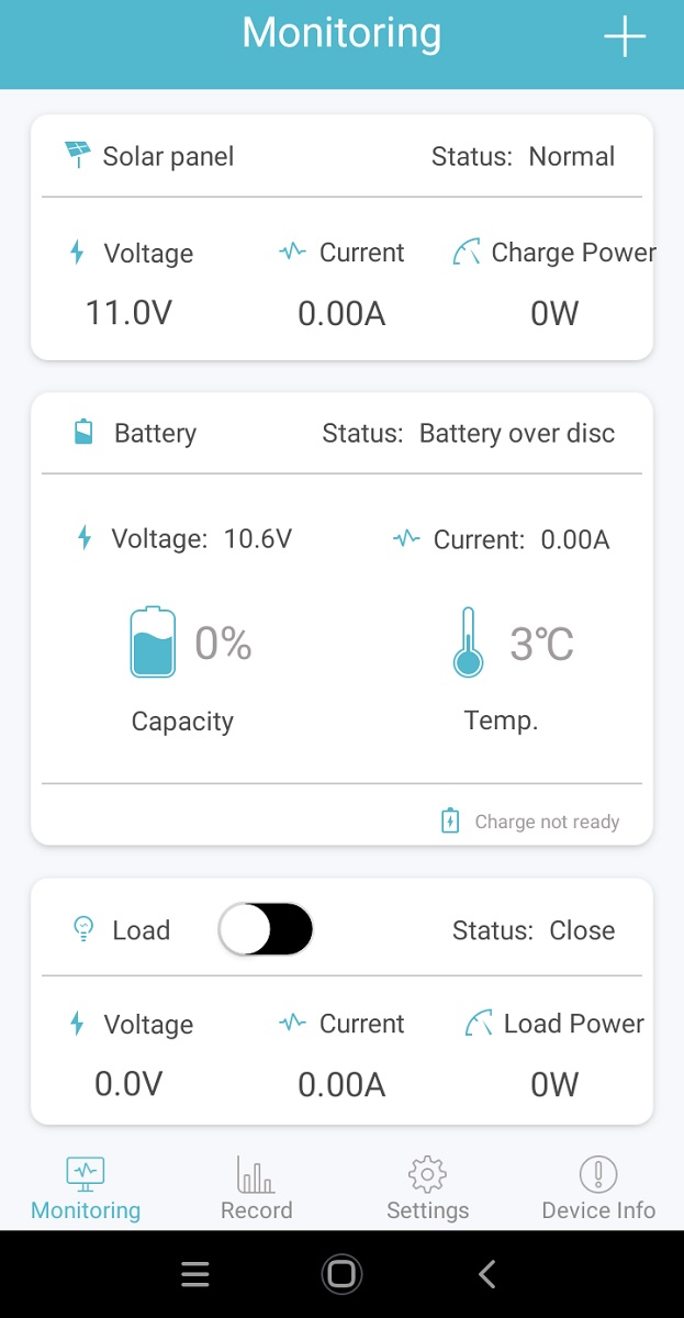renogyアプリ