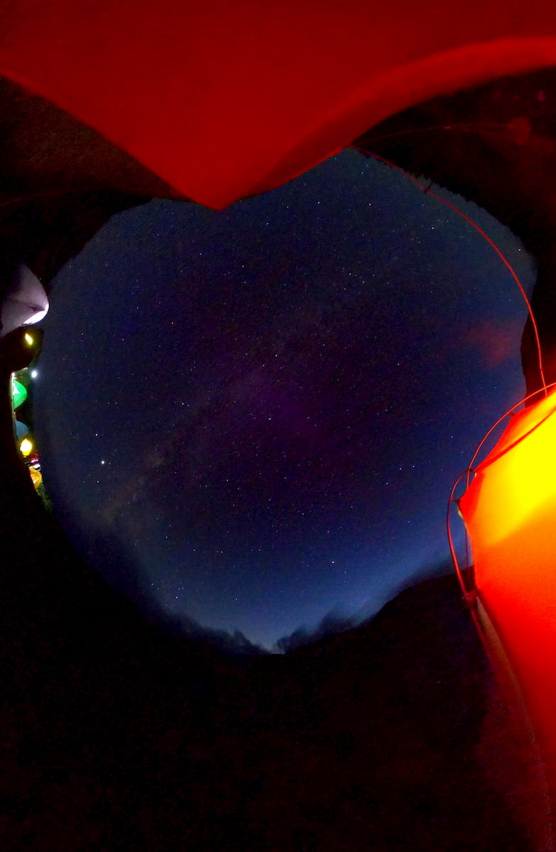 THETAで星撮影
